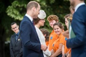 William & Catherine - Belgium , le 31 juillet 2017