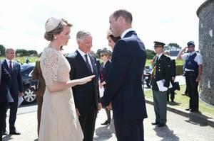 William & Catherine - Belgium , le 31 juillet 2017 _ Suite