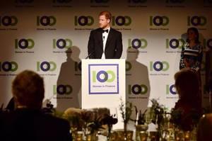 Prince Harry - 100 Women in Finance Gala Dinner , le 11 Octobre 2017