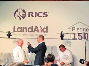 Prince William - the RICS & LandAid Pledge150 Campaign , le 17 Novembre 2017 _ Suite