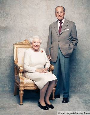 70th wedding anniversary to Her Majesty The Queen and His Royal Highness The Duke of Edinburgh.