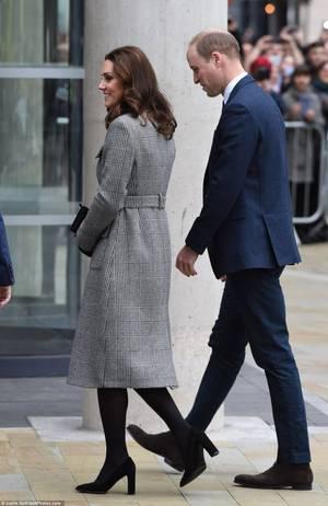 William & Catherine - Manchester , le 06 Décembre 2017