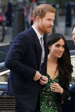 Prince Harry & Miss Meghan Markle -Reception the forthcoming Sydeny Invictus Games2018 ,le 21 Avril 2018