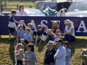 William & Catherine , George et Charlotte - The Maserati Royal Charity Polo Trophy ,le 10 juin 2018
