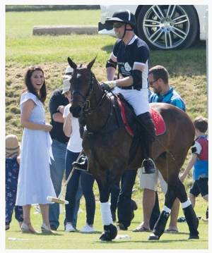 William & Catherine , George et Charlotte - The Maserati Royal Charity Polo Trophy ,le 10 juin 2018 _ Suite