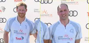 William et Harry - the Audi Polo Challenge at Coworth Park Polo Club , le 30 Juin 2018 _ Suite