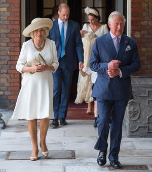 Christening Of Prince Louis Of Cambridge , le 09 juillet 2018