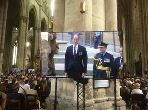 Prince William - Amiens 100th Commemorations , le 08 Aout 2018