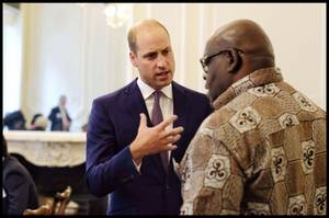 Prince William - Royal African Society Reception , le 12 Septembre 2018
