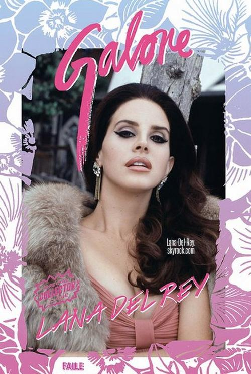 Couverture + photoshoot pour le magazine Galore