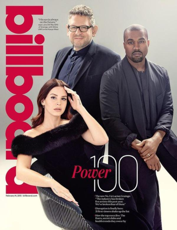 Couverture du magazine Billboard