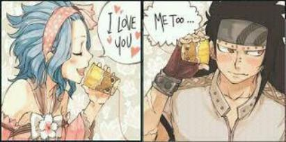Gajeel x Levy = GaLe/GaVy [ 8 images ]