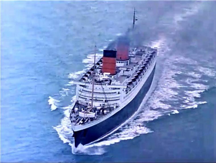 CUNARD RMS QUEEN ELIZABETH (1940)