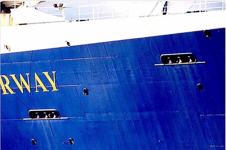 SS NORWAY en escale au Havre en 1999 juin juillet et août (2)