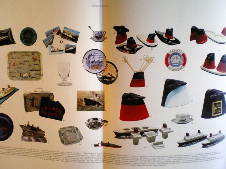 """303 n°64 et """"s/s Normandie, s/s France, s/s Norway"""" édité par 303 (4)"""