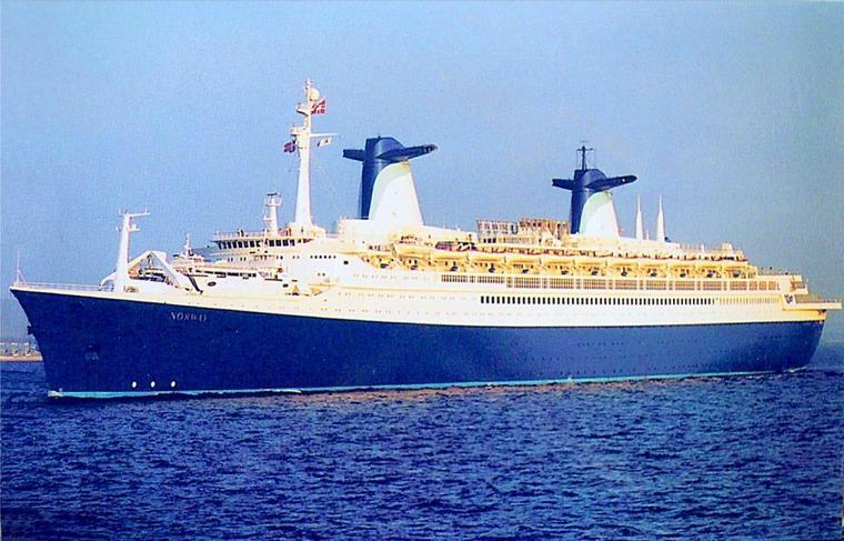 ss NORWAY 1984 en Europe - Danemark / Suède  détroit Oresund