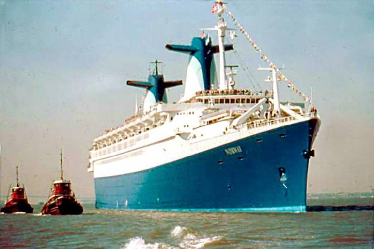 ss NORWAY 1980 - Escale inaugurale - New York  mai 1980