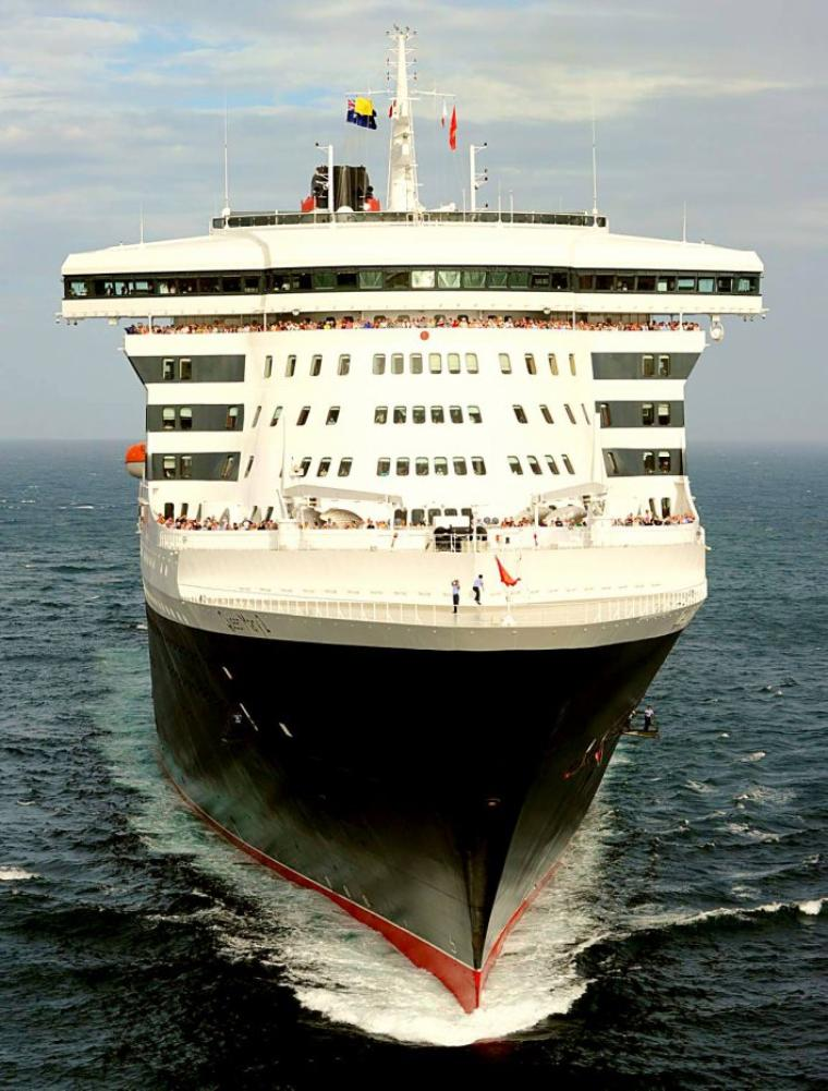 Queen Mary 2  2010 arrive en Australie
