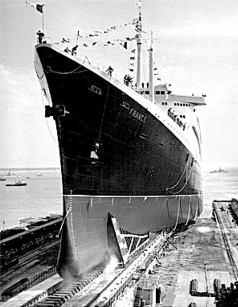 s/s FRANCE forme Joubert  1960