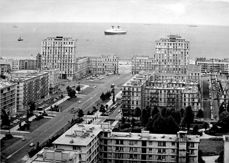 s/s FRANCE - novembre 1971, New-York - Le Havre : Southampton & arrivée au Havre
