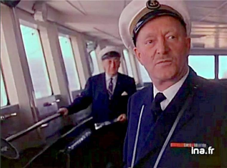 En route sur l'Atlantique-nord à destination de New-York... à bord du s/s FRANCE (2)