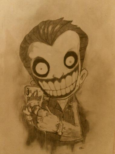 Le Joker. #Désolée pour la qualité médiocre de la photo.