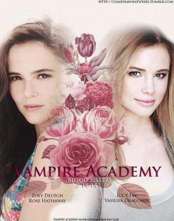 Nouvel photo pour Vampire Academy.
