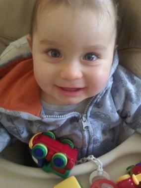 Mon fils Mathys 8 mois