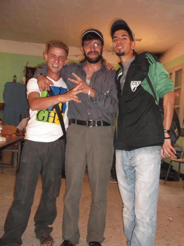 moi et mon amie evec hamid almas un trés grand chanteur kabyle