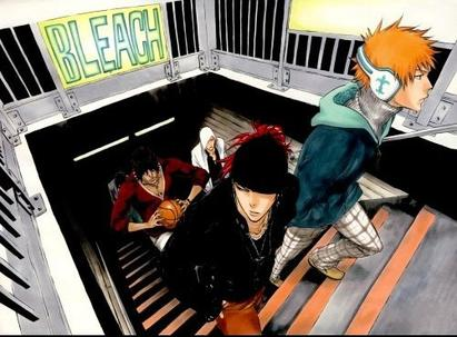 Bleach métro