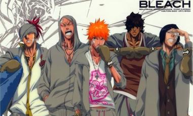 Bleach's men