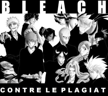 Bleach contre le plagiat