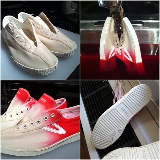 DIY - Customisation - Donner une seconde vie à ses chaussures !
