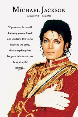 Michael Jackson - Un de mes posters <3