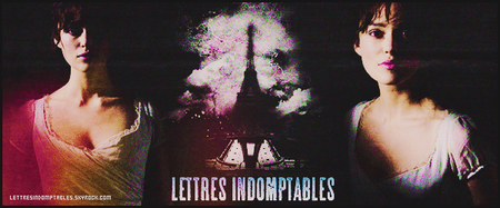 #412 - Lettres Indomptables