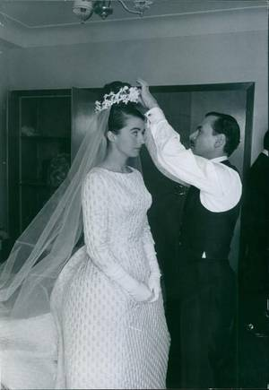 The Wedding Dress - Marina Gacry , Princess Of Bourbon Parma