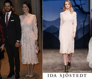 The Dress & Accessoires , Sofia Princess of Sweden _ Suite