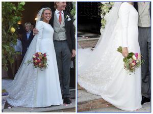 The Wedding Dress 2017 - Princess Marie-Gabrielle of Nassau