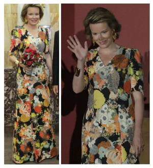 The Style Dress & Accessoires - Queen Mathilde of Belgium _ Suite