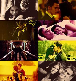 Stelena + TVD + Glee + Movies of the month ♥