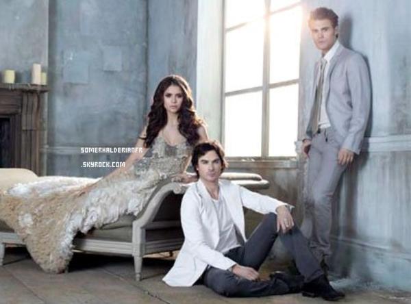 Découvrez un nouveau stills promotionnel de la saison 3 de Vampire Diaries est apparus. Ton avis ?