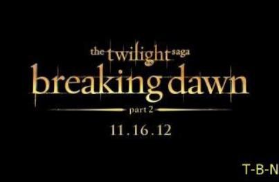 Etant donnée que les fans américains possèdent maintenant le DVD Révélation Part 1 voici quelques screencapes à visualiser+ Logo Twilight : breaking dawn part 2.
