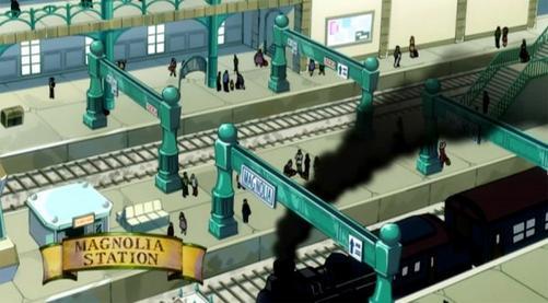 Chapitre 1 : Le train