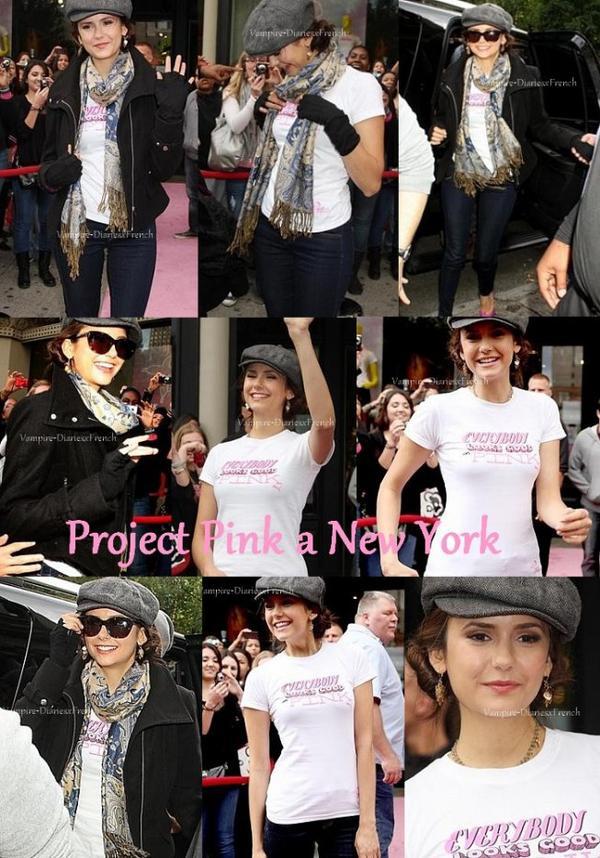 2.10.11 : Nina était au magasin Puma à New York !!