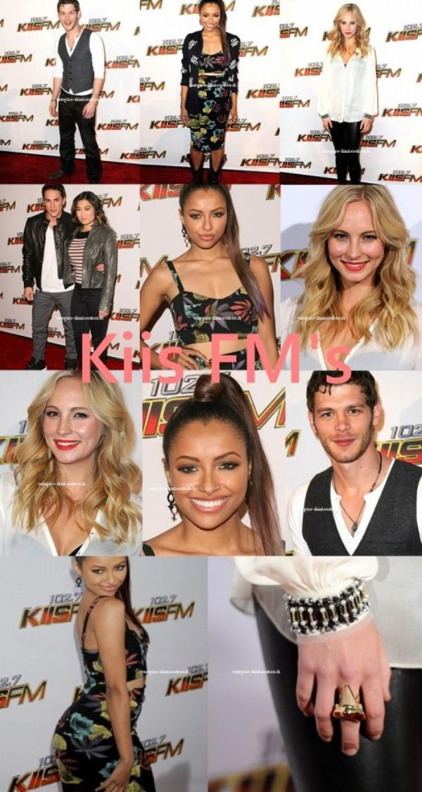 Kat, Candice, Michael et Joseph ont assisté à la FM Jingle Ball de KIIS Debut decembre