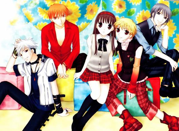 Manga — Fruits basket