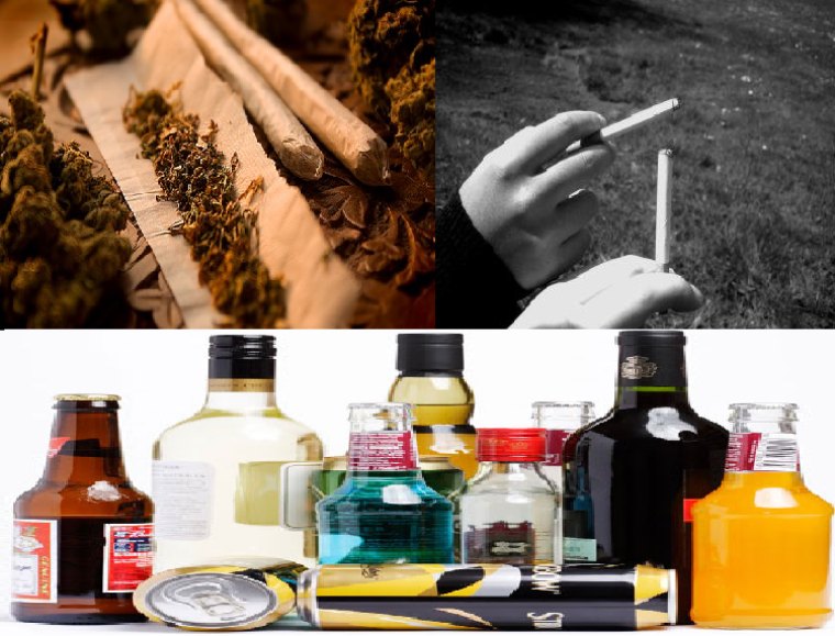 Les gens nous dis arrête de boire, de fumer, de prendre de la droguer