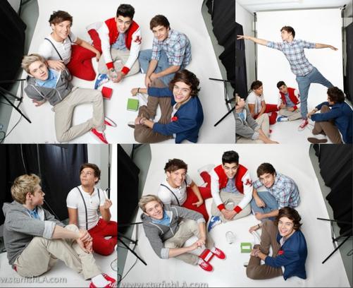 Quelques photos d'un des derniers photoshot des boys