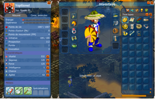 the bleu dofus!!!