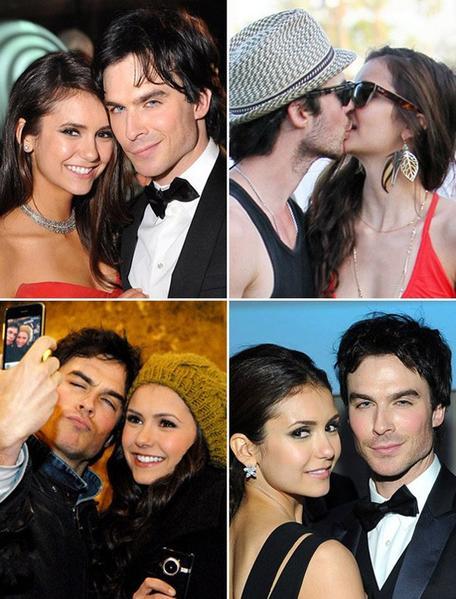 Nina et Ian : Le couple le plus hot d'Hollywood ! --> les photos les plus craquantes de Nian
